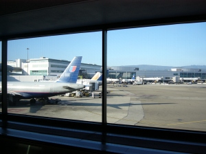 I'm leaving on a jet plane don't know when I'll be back again....